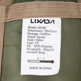 LIXADA 190*75cm Envelope Sleeping Bag Adult Camping Outdoor Mini Walking beach Sleeping Bags Ultralight Travel Bag Spring Autumn