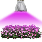 Full Spectrum18W/ 28W E27 E14 GU10 Led Grow Light Red Blue UV IR Led Growing Lamp for Hydroponics Flowers Plants Vegetables