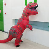 Inflatable Dinosaur Costume Fantasia Adulto Halloween Cosplay Dinosaur Costumes For Adult Disfraces Adultos T-REX Fan Operated