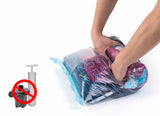 NatureHike Vacuum Swim Clothes Storage Bags Hand Scroll Compressed Vacuum Space Saving Bag Convenient Organizer Travel Kit