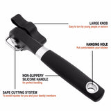 FINDKING brand Cans Opener Professional Ergonomic Manual Can Opener Side Cut Manual Can Opener