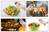 Portable Stainless Steel Olive Oil Sprayer Cruets Misters Pump Bottle Cooking Tools Kitchen Accessories