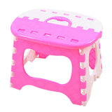 Plastic Folding 6 Type Thicken Step Portable Child Stools 24.5*19*17.5cm