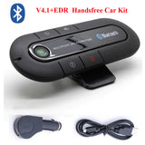 Hands free BT Car Kit Wireless Bluetooth Handsfree Sun Visor Speaker MP3 Music Player Multipoint Speakerphone Car Kit