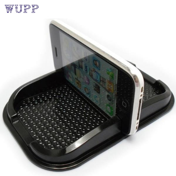 Creative Design Black New Car Non Slip Sticky Auto Anti-Slip Dashboard Pad Mat Holder For Phone Top Quality PU Oct 27