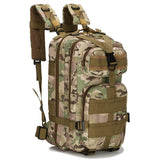 2017 3P Outdoor Military Tactical Backpack 30L Molle Bag Army Sport Travel Rucksack Camping Hiking Trekking Camouflage Bag