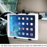 ASOMETECH Car Back Seat Headrest Mount Holder For iPad 2 3/4 Air 1 2 ipad mini 1/2/3/4 SAMSUNG Mipad 2 Tablet PC Stands Bracket