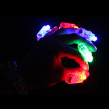 100pcs/lot Multi colorS Bright Led Laser Finger Ring Light Lamp Beams Torch for Ktv DJ Bar Party Gifts decoration