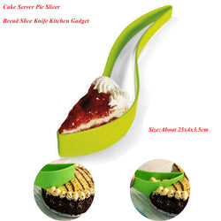 Cake Pie Slicer Sheet Eco-Friendly Cutter Server Bread Slice Knife Kitchen Gadget Free Shipping