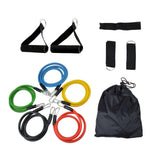 PHFU RESISTANCE BANDS Set For Yoga Abs Pilates Exercise Workout 11 Pieces