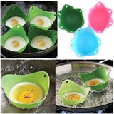 1pcs high quality Silicone Egg Poacher Cook Poach Pods Kitchen Cookware Poached Baking Cup