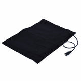 1pc Washable USB Electric Heating Pad 3 Gear Adjusted Temperature DIY Thermal Vest Jacket Clothing Heated Pads 170*240mm