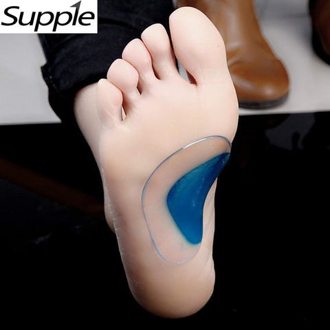 Foot Care Tool 1Pair , 2 pcs, Arch Support Orthopedic Orthotic Insole Flat Foot Flatfoot Correction Shoe Insoles Cushion Inserts