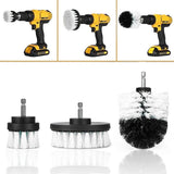 Power Scrubber Brush Set for Bathroom Drill Scrubber Brush for Cleaning Cordless Drill Attachment Kit Power Scrub Brush