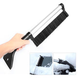 Portable Extendable Telescoping Snow Brush Shovel Ice Scraper 42-60CM For Car Motorcycle Truck Car Accessories
