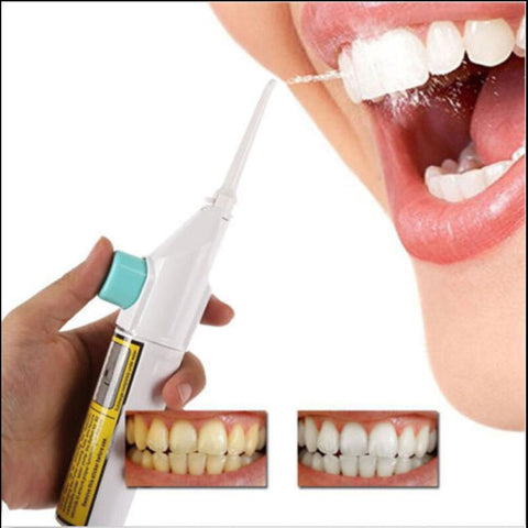 Portable Power Floss Dental Water Jet Cords Tooth No Batteries Dental Cleaning Whitening Teeth Cleaner Kit Drop shipping