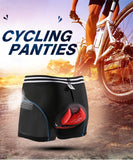 SAENSHING 5D Gel Pad Cycling Underwear Men Mountain Bike Briefs Downhill MTB Padded Cycling Shorts Men Compression Tights Shorts