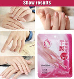 Hand Skin Care Hand Mask Shea Butter Essence Soft Whitening Hand Mask Moisturizing Gloves Smoothing Nourishing