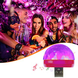 USB Mini Disco Lights,Portable Home Party Light,DC 5V USB Powered Led Stage Party Ball DJ Lighting,Karaoke Party Led Christmas
