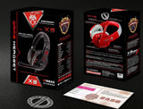 HKPOST KINBAS VP-X9 earphones and headphone Speakers Surround Gaming Headset Stereo Bass Headphone With Mic For Computer Gamer