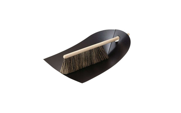 Dustpan & Broom, Set of 6 Black