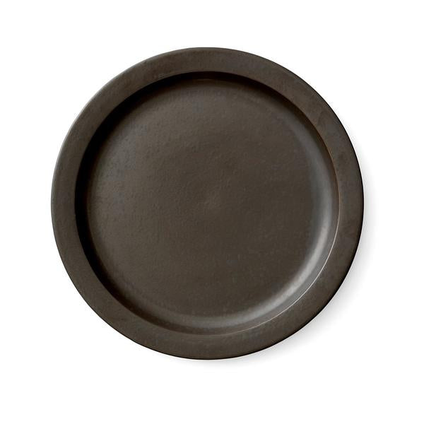 New Norm Dinner Plate, 27,5 cm, 6 pc. Dark Glazed