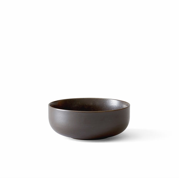 New Norm Bowl, Ø13,5 cm, 4 pc. Dark Glazed