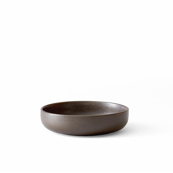 New Norm Low Bowl, Ø13,5 cm, 4 pc. Dark Glazed