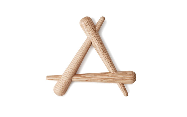 Timber Trivet, Set of 4