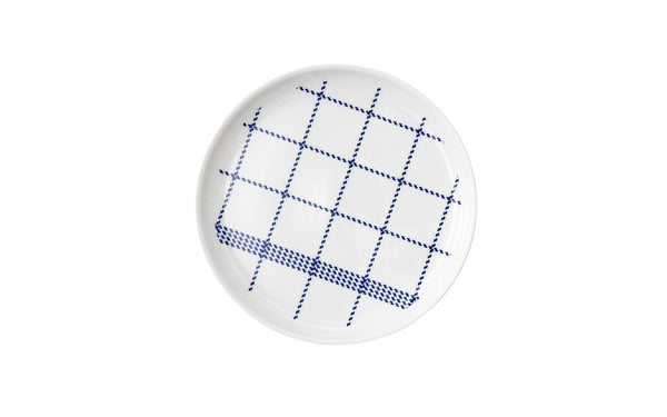 Mormor Blue Plate, Set of 4 19