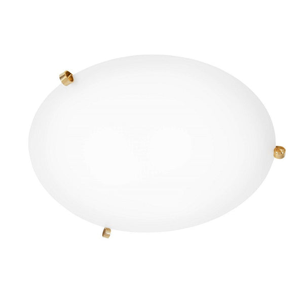 ÖGLA ceiling lamp 550 mm Brass