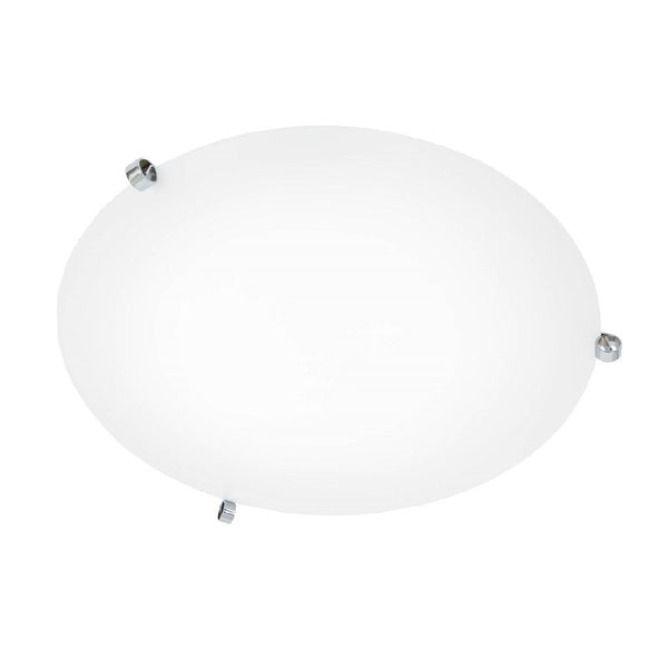 ÖGLA ceiling lamp 550 mm Chrome