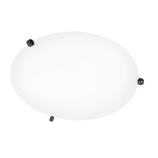 ÖGLA ceiling lamp 550 mm Grey