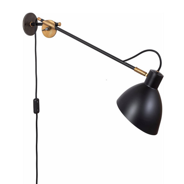 KH#1 Wall Lamp Black