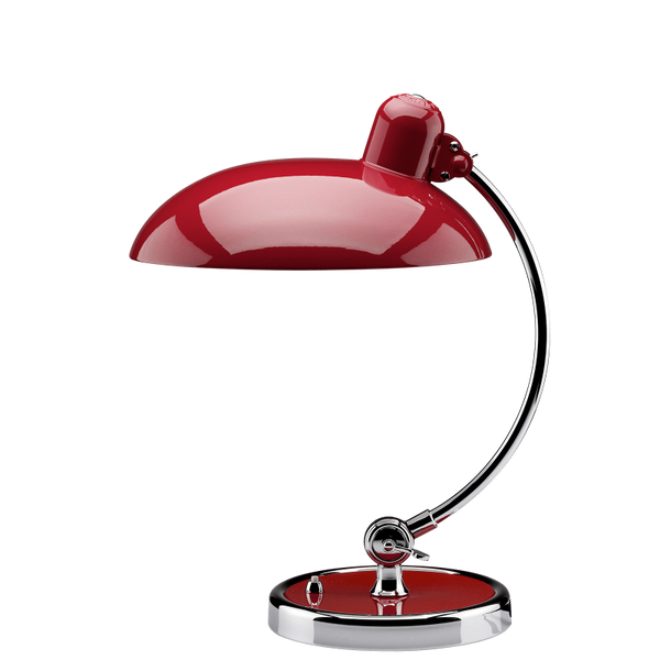 KAISER idell 6631-T LUXUS Table Lamp Red