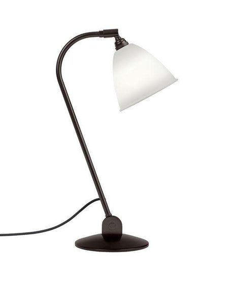 Bestlite BL2 table lamp Black Brass/Bone China