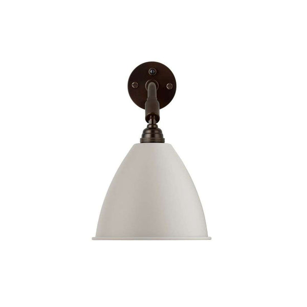 Bestlite BL7 with switch wall lamp Black Brass/White