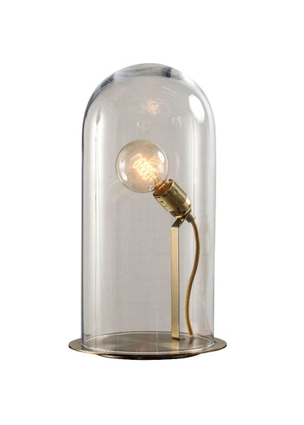 Speak Up! Table Lamp 42 / Clear / Brass