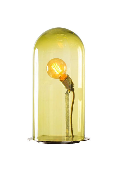 Speak Up! Table Lamp 42 / Olive / Brass