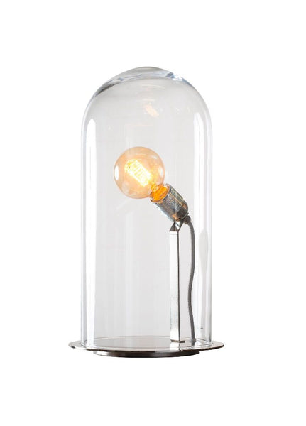 Speak Up! Table Lamp 42 / Clear / Silver