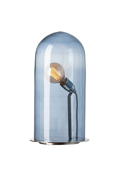 Speak Up! Table Lamp 42 / Deep blue / Silver