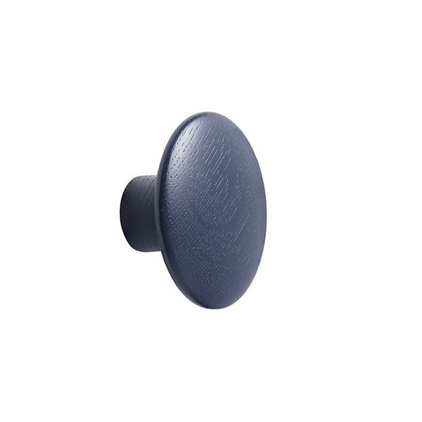 The Dots Coat Hooks / Set of 2 9 / Midnight Blue