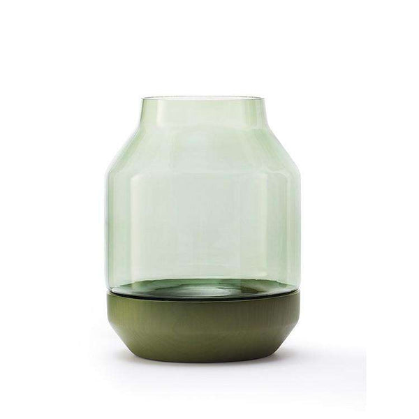 Elevated Vase Green