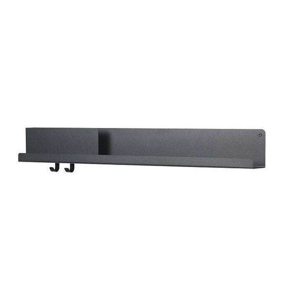 Folded Shelves 95 / Black