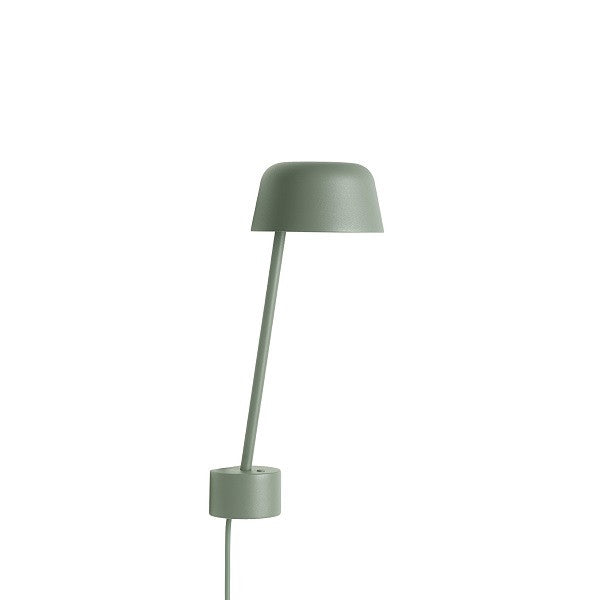 Lean Wall Lamp Dusty Green