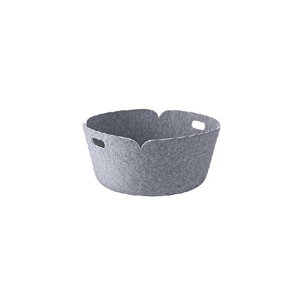 Restore Round Basket Grey