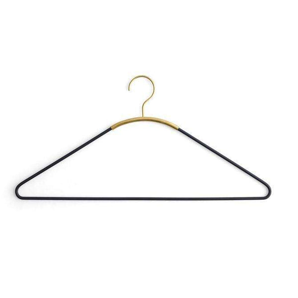 Ava coat hanger, 4 pc. Black