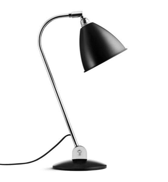 Bestlite BL2 table lamp Black/Chrome