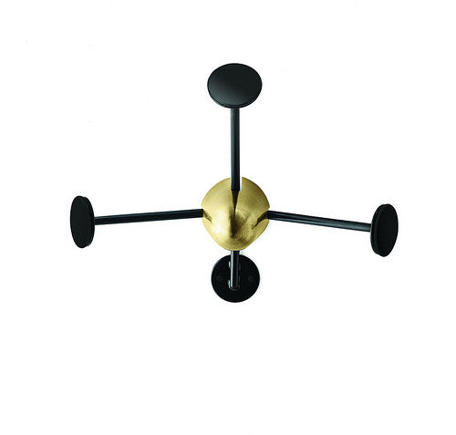 Matégot coat rack Black