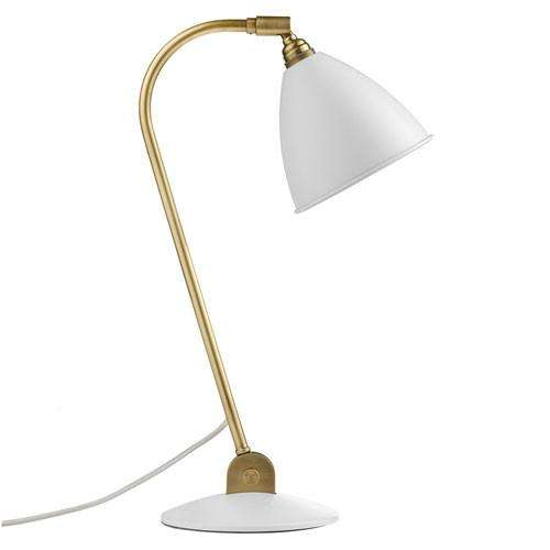 Bestlite BL2 table lamp White/Brass
